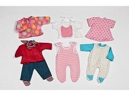 Puppenkleider-Set 32 cm